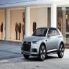 Audi Q2 катается по Нюрбургринге
