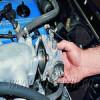 Дроссельный узел двигателя